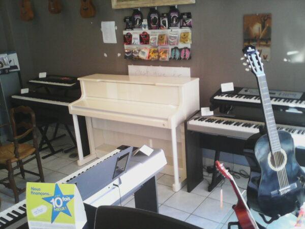 Pianos et claviers numériques